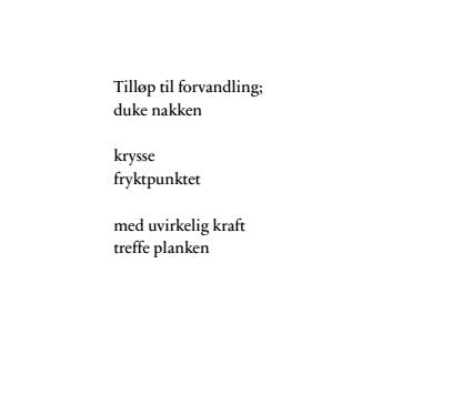 takk for at du er du dikt